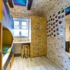 Chillout Hostel Zagreb Кровать в общем номере с двухъярусной кроватью фото 8