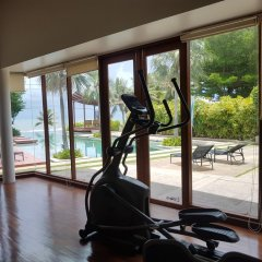 Отель Pranaluxe Pool Villa Holiday Home фитнесс-зал фото 2