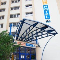 Отель a&o Prag Metro Strizkov вид на фасад фото 3