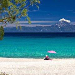 Vamvini Hotel пляж фото 2