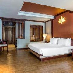 Отель Novotel Samui Resort Chaweng Beach Kandaburi 4* Улучшенный номер с различными типами кроватей фото 2