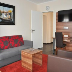 BATU Apart Hotel 3* Улучшенные апартаменты с различными типами кроватей фото 2
