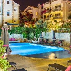 Garden Suites Турция, Калкан - отзывы, цены и фото номеров - забронировать отель Garden Suites онлайн бассейн