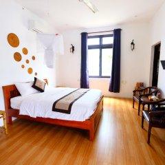 Отель An Bang Sunrise Beach Bungalow комната для гостей фото 4
