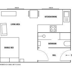 Апартаменты Royal Mile Studio Эдинбург парковка