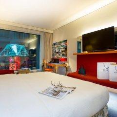Radisson Blu Hotel Zurich Airport 4* Улучшенный номер с различными типами кроватей
