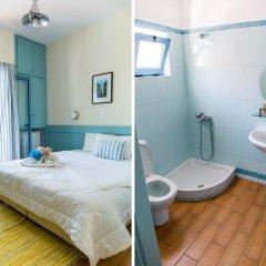 Отель Saronis Hotel Греция, Агистри - отзывы, цены и фото номеров - забронировать отель Saronis Hotel онлайн ванная