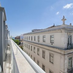 Апартаменты Chiado Square - Lisbon Best Apartments Лиссабон балкон