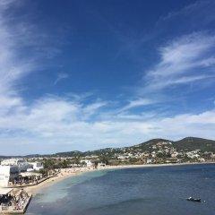Отель Hostal Talamanca пляж