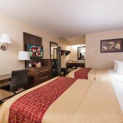 Отель Red Roof Inn PLUS+ Columbus-Ohio State University OSU 2* Номер Делюкс с различными типами кроватей фото 4