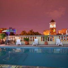 Отель Santiago De Compostela Hotel Мексика, Гвадалахара - отзывы, цены и фото номеров - забронировать отель Santiago De Compostela Hotel онлайн бассейн