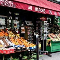 Апартаменты Montmartre Apartments Leo Ferre Париж питание фото 2
