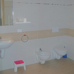 Отель Al Cavaliere Порденоне ванная фото 2