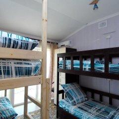Hostel Morskoy Кровать в общем номере с двухъярусной кроватью фото 11