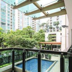 Отель Trendy Chidlom Бангкок балкон