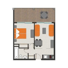 Отель Apartamentos Cala d'Or Playa удобства в номере фото 2