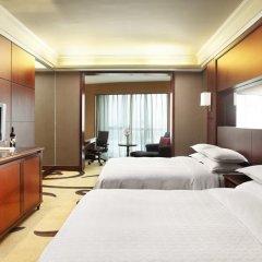 Sheraton Shenzhen Futian Hotel 5* Улучшенный номер с различными типами кроватей фото 2