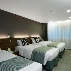 Itaewon Crown hotel 3* Стандартный семейный номер с двуспальной кроватью фото 3