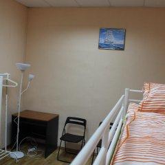 Гостиница Аэрохостел Кровать в общем номере с двухъярусной кроватью фото 4