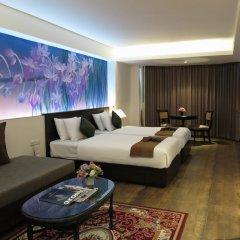 Отель The Grand Sathorn 3* Номер Делюкс с различными типами кроватей фото 2