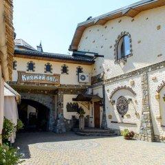 Гостиница Княжий двор Украина, Рясное-Русское - 1 отзыв об отеле, цены и фото номеров - забронировать гостиницу Княжий двор онлайн парковка