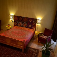 Апартаменты Galeria Apartments Будапешт комната для гостей