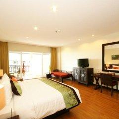 Отель The Heritage Pattaya Beach Resort 4* Номер Делюкс с различными типами кроватей фото 25