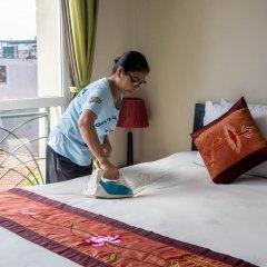Отель Vietnam Backpacker Hostels - Downtown Стандартный номер с различными типами кроватей фото 3