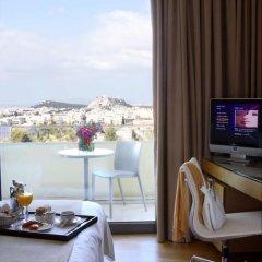 Отель Hilton Athens 5* Номер Премиум с различными типами кроватей фото 7