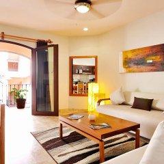 Отель Acanto Hotel and Condominiums Playa del Carmen Мексика, Плая-дель-Кармен - отзывы, цены и фото номеров - забронировать отель Acanto Hotel and Condominiums Playa del Carmen онлайн комната для гостей фото 5