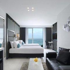 Отель Amari Residences Pattaya 4* Улучшенный номер с различными типами кроватей фото 16