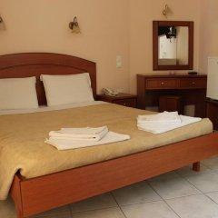 Отель Athinaiko 2* Стандартный номер с двуспальной кроватью фото 15