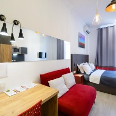 Гостиница Partner Guest House Khreschatyk 3* Студия с различными типами кроватей фото 36