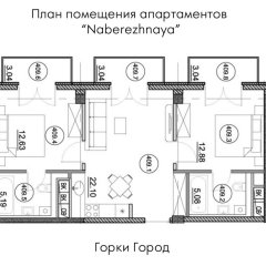 Апартаменты Apartment Naberezhnaya парковка
