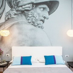 Отель Milizie 76 Gallery 2* Номер Делюкс с двуспальной кроватью фото 5