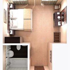 Гостиница Садовническая 5* Студия Делюкс с двуспальной кроватью фото 4