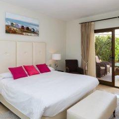 Отель Coral Beach Aparthotel 4* Улучшенные апартаменты с 2 отдельными кроватями фото 17