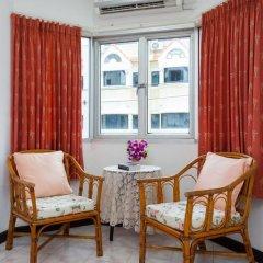 Отель Karon Sunshine Guesthouse & Bar 3* Улучшенный номер с различными типами кроватей фото 24