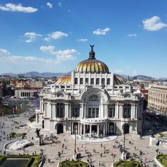 Отель Grupo Kings Suites Monte Chimborazo 537 Мехико балкон
