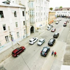 Апартаменты Apartments Elite near Sovetskaya subway station парковка