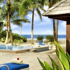 Отель The St Regis Bora Bora Resort 5* Вилла Reefside garden с различными типами кроватей фото 2