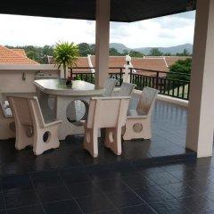 Отель Sea View Apartments Таиланд, На Чом Тхиан - отзывы, цены и фото номеров - забронировать отель Sea View Apartments онлайн балкон