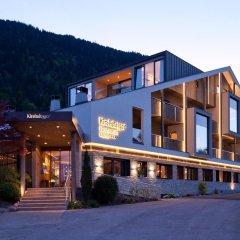 Отель Gasthof Kirchsteiger Горнолыжный курорт Ортлер вид на фасад