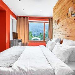 Гостевой дом Резиденция Парк Шале Улучшенный номер с двуспальной кроватью фото 4