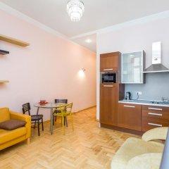Апартаменты Four Squares Apartments on Tverskaya Апартаменты с двуспальной кроватью фото 13