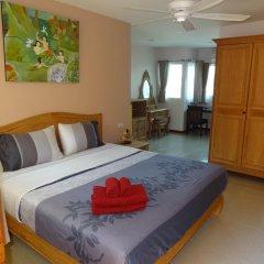 Апартаменты Rm Wiwat Apartment Люкс с различными типами кроватей фото 8