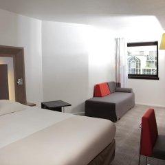 Отель Novotel Paris Les Halles 4* Представительский номер с различными типами кроватей фото 7