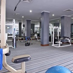 Отель Grand President Bangkok фитнесс-зал фото 2