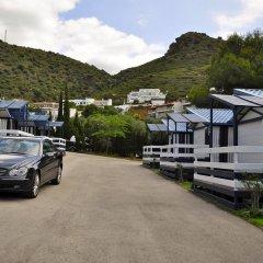 Отель Camping Ampurdanés Курорт Росес парковка
