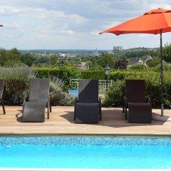 Отель Les Terrasses De Saumur 3* Улучшенный номер